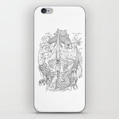 The Eye of the Storm iPhone & iPod Skin