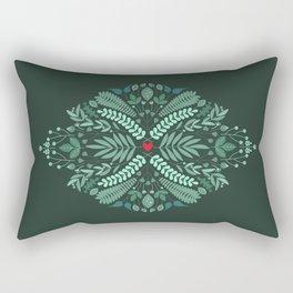Minty Spring Rectangular Pillow