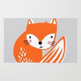 Fox Print by Tasha Johnson Rug