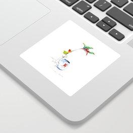 Bird of Paradise 2016 Sticker