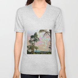 Paths Unisex V-Neck