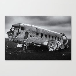 Brazilian Brazil DC-3 US Navy Airplane Canvas Print