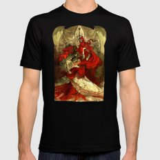 Masque of the Red Death LARGE Mens Fitted Tee Black