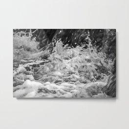 Splashing Water 7 Metal Print