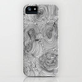 Contours iPhone Case