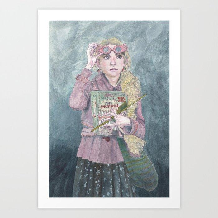 Luna Lovegood Kunstdrucke