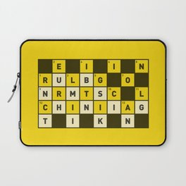 Religion numbs critical thinking  Laptop Sleeve
