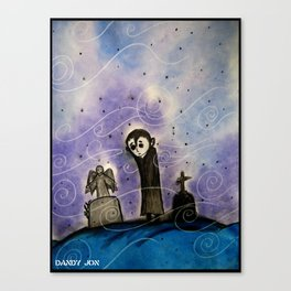 Graveyard Boy Canvas Print