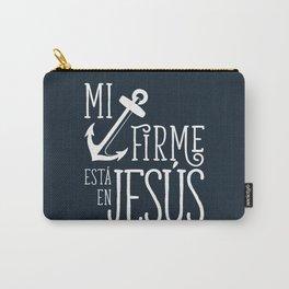 Ancla firme en Jesús Carry-All Pouch