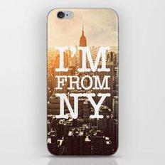 New York iPhone & iPod Skin