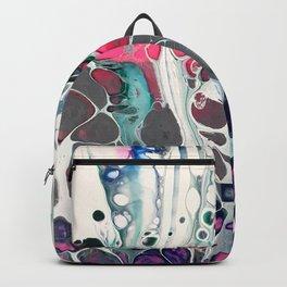 Tadaaaa - an abstract acrylic swipe Backpack