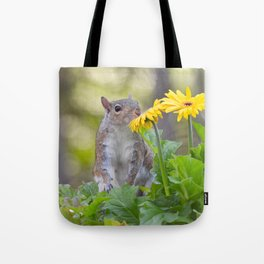 Smell the Daisies Tote Bag