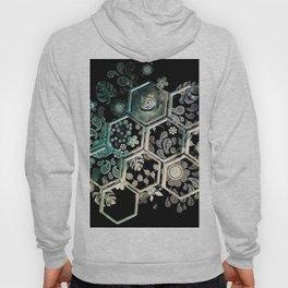 Black Hexagon Hoody