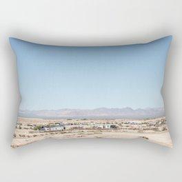 Desert Ghost Towns Rectangular Pillow