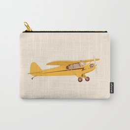 Little Yellow Plane Carry-All Pouch