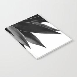 Agave fringe - noir Notebook
