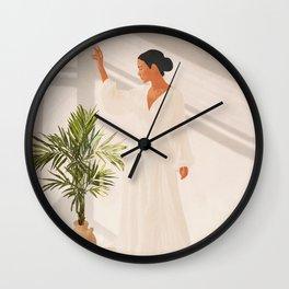 Opened Window Wall Clock