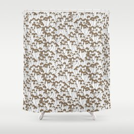 Beech Mushrooms Shower Curtain