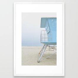 mood - minimalist Framed Art Print