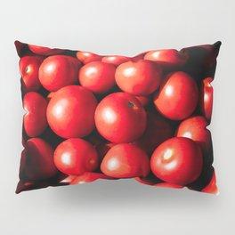 Red Tomato Vegetables Pillow Sham