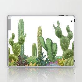 Milagritos Cacti on white background. Laptop & iPad Skin