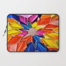rainbow explosion Laptop Sleeve