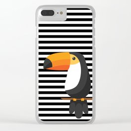 TOUCAN tropical toucans Clear iPhone Case