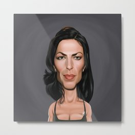 Claudia Black Metal Print