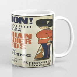 Vintage poster - Canadian Grenadier Guards Coffee Mug