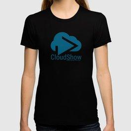 CloudShow (blue logo) T-shirt