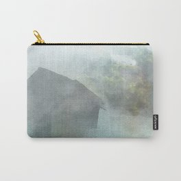 Maori village in Watercolor Carry-All Pouch