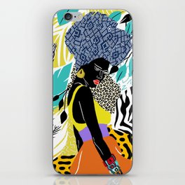 Crown Queen iPhone Skin