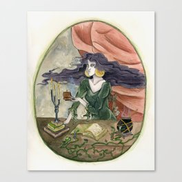 The Erl Witch at Work Canvas Print