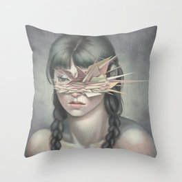 Vertices 03 Throw Pillow
