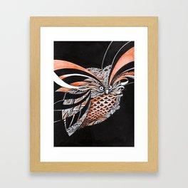 Coruja Framed Art Print