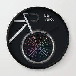 Le Velo Noir Wall Clock