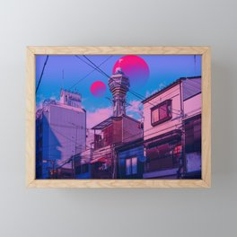 Osaka 2084 Framed Mini Art Print
