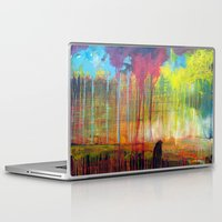scott pilgrim Laptop & iPad Skins featuring Pilgrim by Phil Fung
