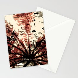 Plant Fossil Stationery Cards