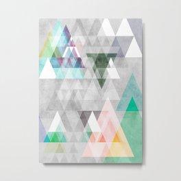 Graphic 35 Metal Print