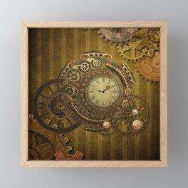 Steampunk design, wonderful clockwork Framed Mini Art Print