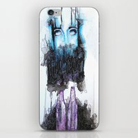 alcohol iPhone & iPod Skins featuring Alcohol dependence by laurensmorin