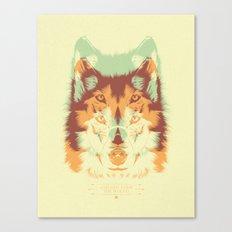 WOLF A. Canvas Print