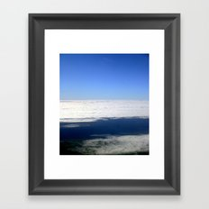 Above the Clouds Framed Art Print