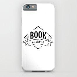 Book Hoarder Black iPhone Case