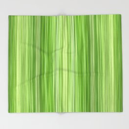 Ambient 3 in Key Lime Green Throw Blanket