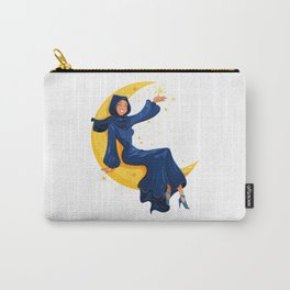 Lady on the Moon Carry-All Pouch