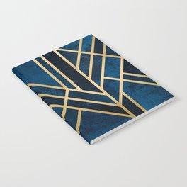 Art Deco Midnight Notebook