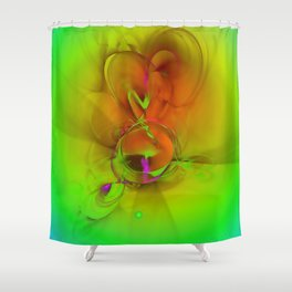 Dreaming forwards ... Shower Curtain
