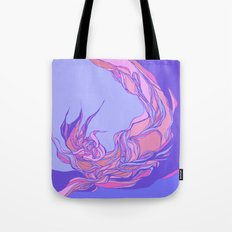 Lilac  & pink abstract theme Tote Bag